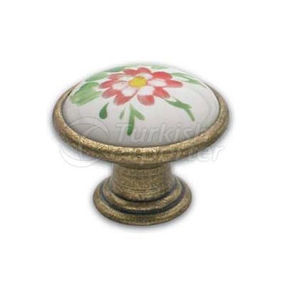 Brass Porcelain Handle Bodrum