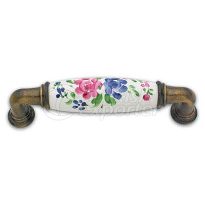 Brass Porcelain Handle Bahar