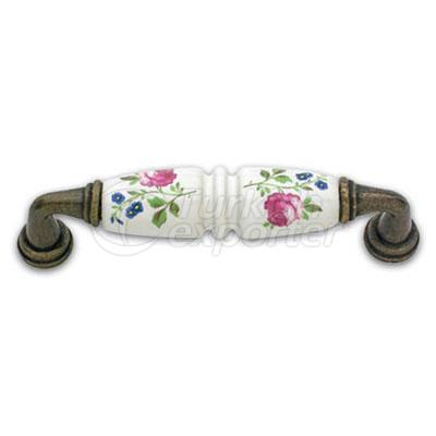 Zamac Porcelain Handle Elit
