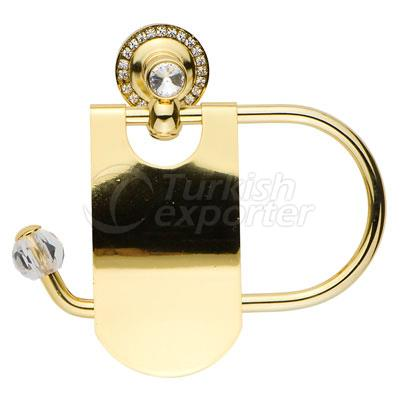 Damla Gold Toilet Roll Holder
