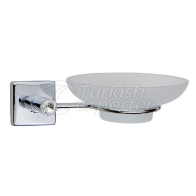 Stony Chrome Soap Holder