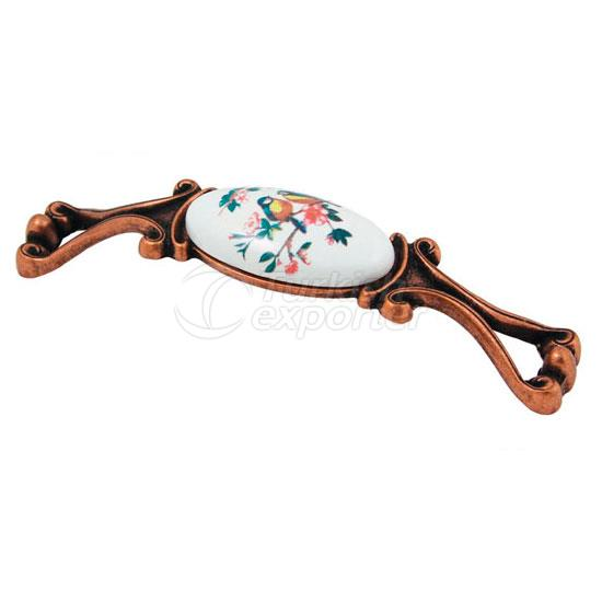 Zamac Porcelain Handle Gülistan