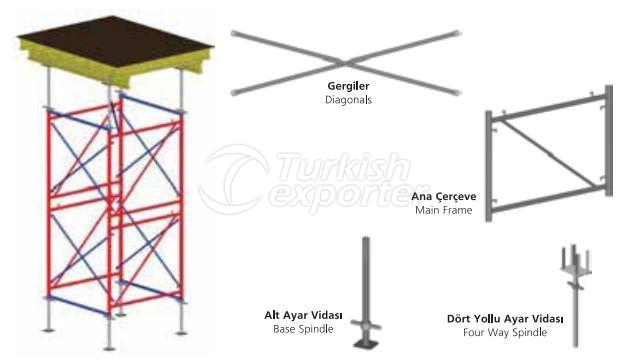 Table Type Shoring Tower