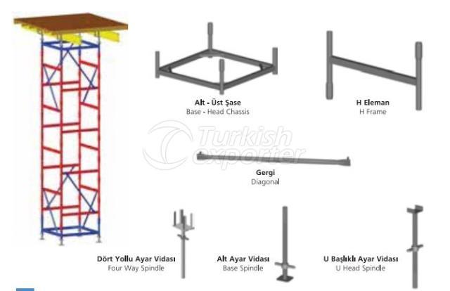 H-Type Stocking Tower
