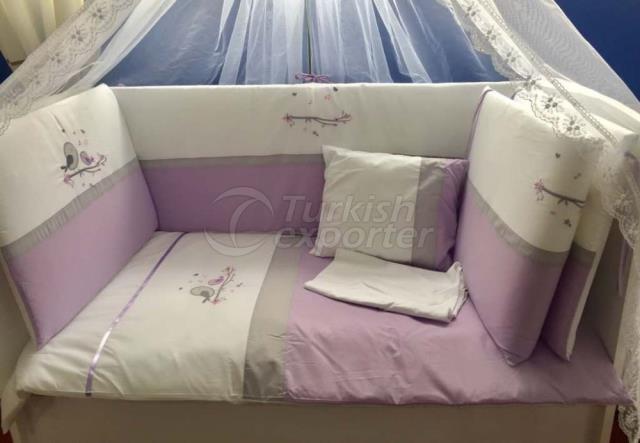 70-130-60-120 Sleep Sets Lila Kuş