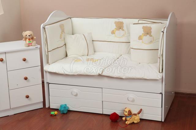 70-130-60-120 Sleep Sets Balonlu Ayı