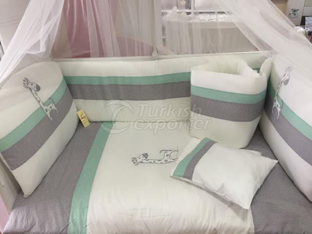 70-130-60-120 Sleep Sets Benekli Zürafa
