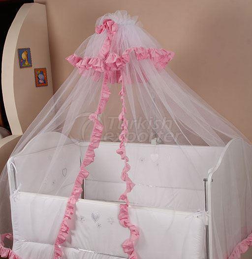 Ruffled Bednet