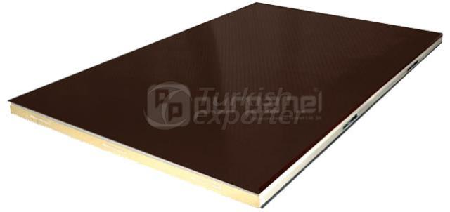 Plywood Surface Polyurethane Finish Panel