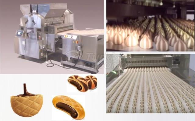 Filled Biscuit and Cookier Biscuit Machine
