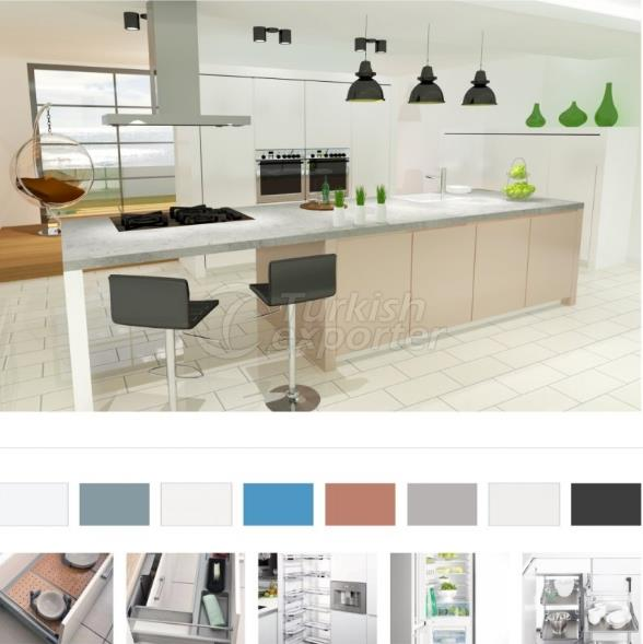 Kitchen Furniture-Decoration Kristal