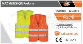Reflective Vest Double Phosphorous
