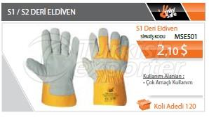 S1-S2 Leather Gloves