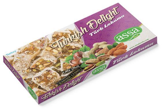 Turkish Delight with Mix Nuts