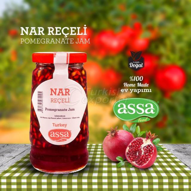 Pomegranate Jam