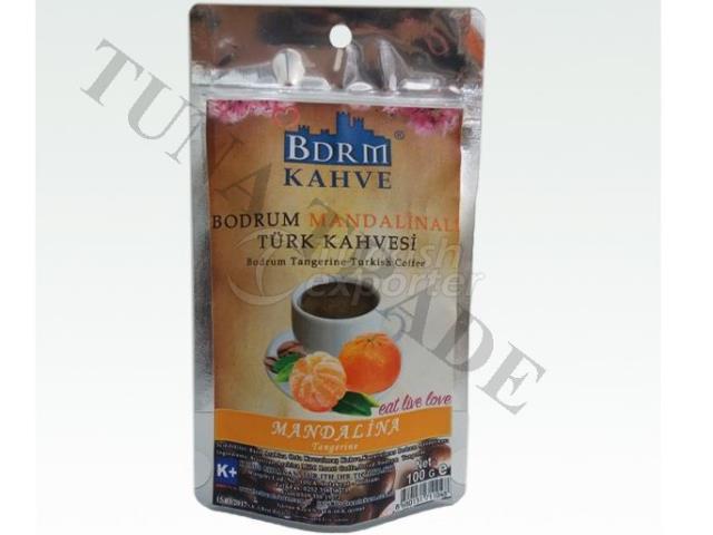 Turkish Coffee With Bodrum Tangerine