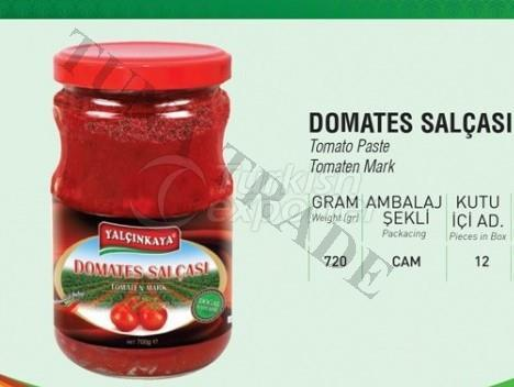 Tomato Paste Glass Jar