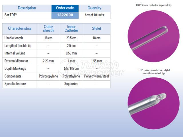 Embryo Transfer Catheter Set TDT®