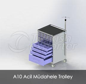 A10 Emergency Trolley