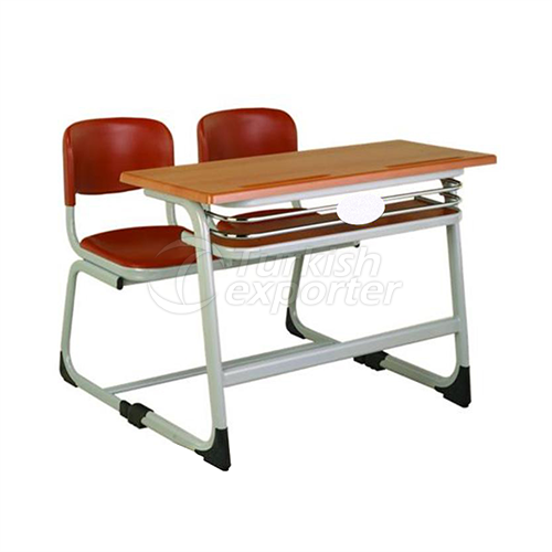 Orkide 200 Double Row Desk