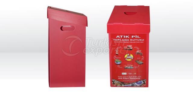 Waste Batteries Box