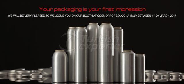 Aluminium Aerosol Cans