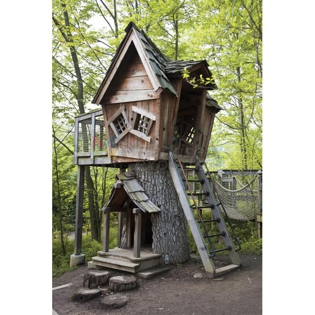 Wooden Playground House