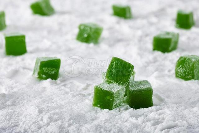 Turkish Delight with Mint Flavoured