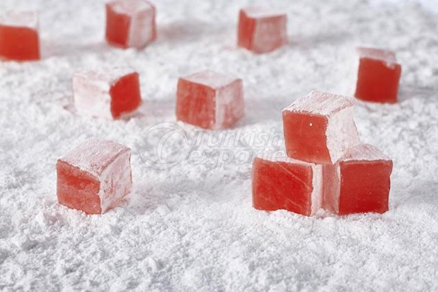 Mini Turkish Delight With Rose