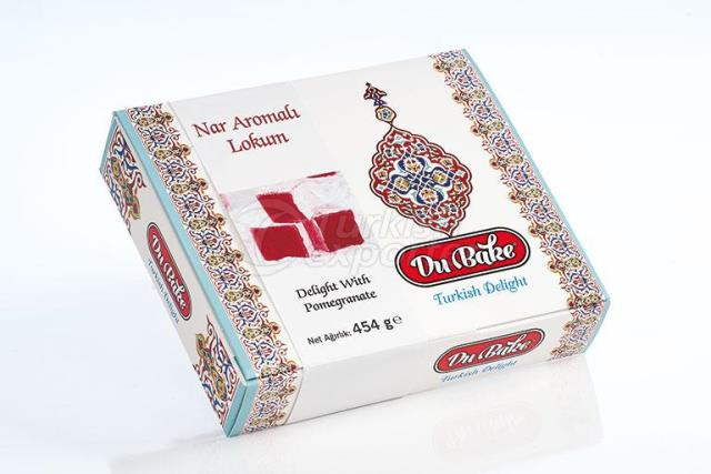 Turkish Delight With Pomegranate