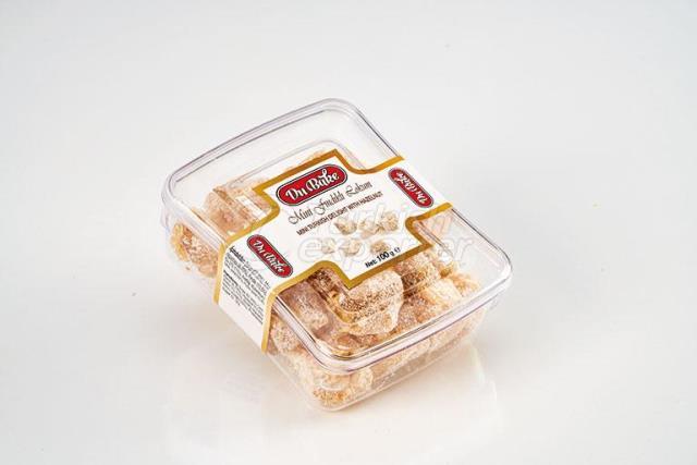 Mini Turkish Delight With Hazelnut