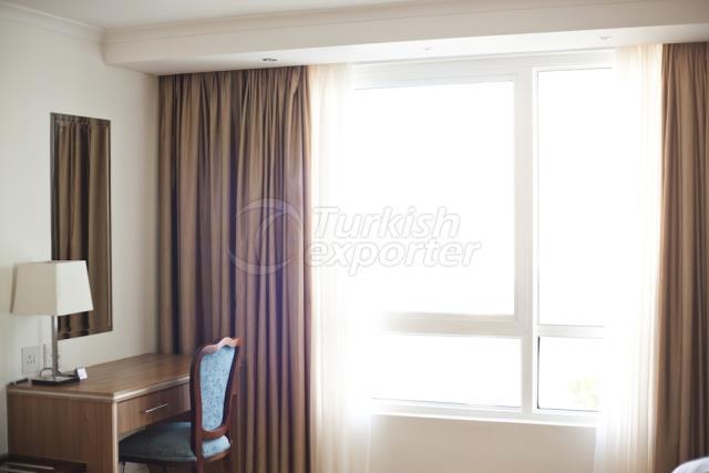 Curtain Blackout Sheer Brown