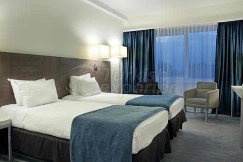 Hotel Curtain Blue