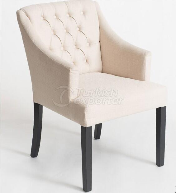 Coffee Chair Wood Legs