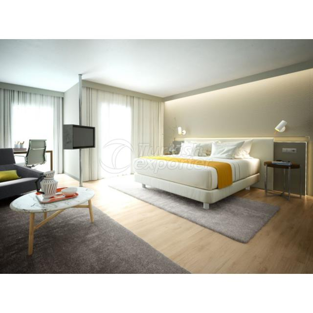 Hotel Room Render