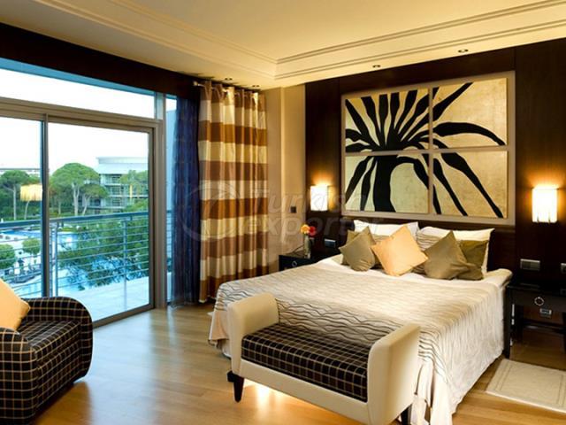Hotel Room Fabrics & Furniture