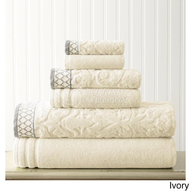 Towel Set Jacquared