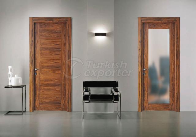 Wooden Glass Door MCK-04