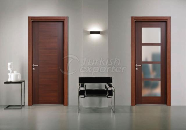 Melamine Glass Door MLMC-07