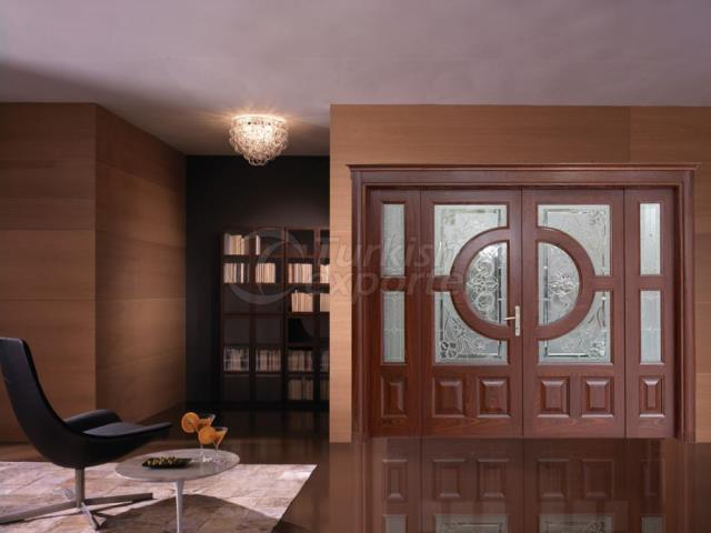 Solid Glass Doors