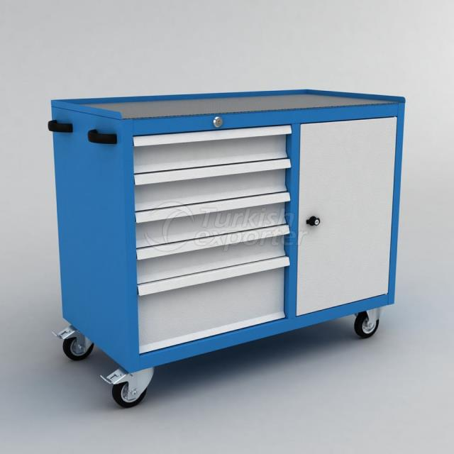 Tool Trolley With Drawer BD.36.44.69