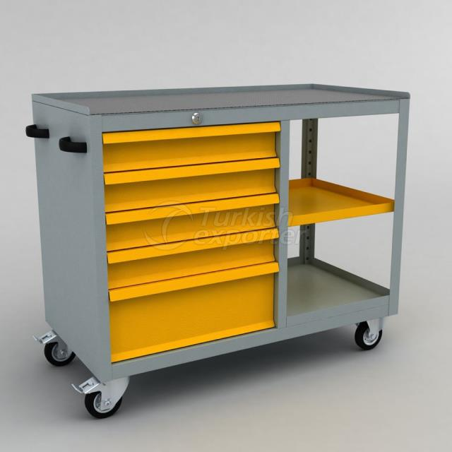 Tool Trolley With Drawer BD.36.44.68