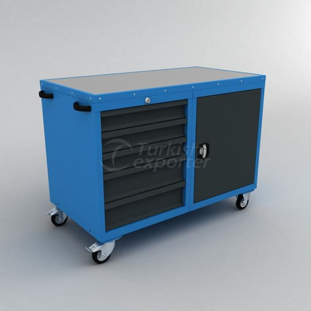 Tool Trolley With Drawer BD.36.44.36