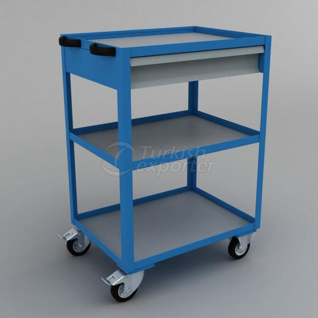 Tool Trolley With Drawer BD.36.44.72