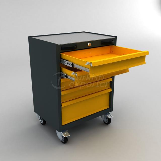 Tool Trolley With Drawer BD.36.44.65