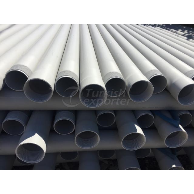 PVC-U Closed Deep Well Pipe