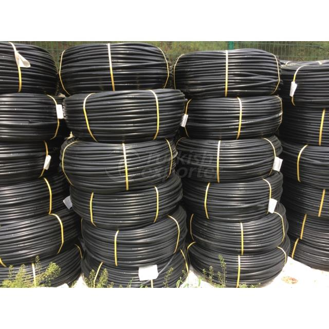 16 mm round drip irrigation pipes