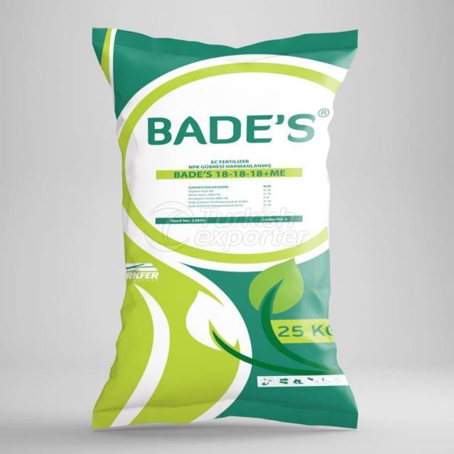 BADE'S 18-18-18-ME