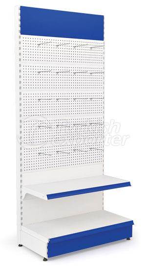 Hardware Unit With Perforated Panel