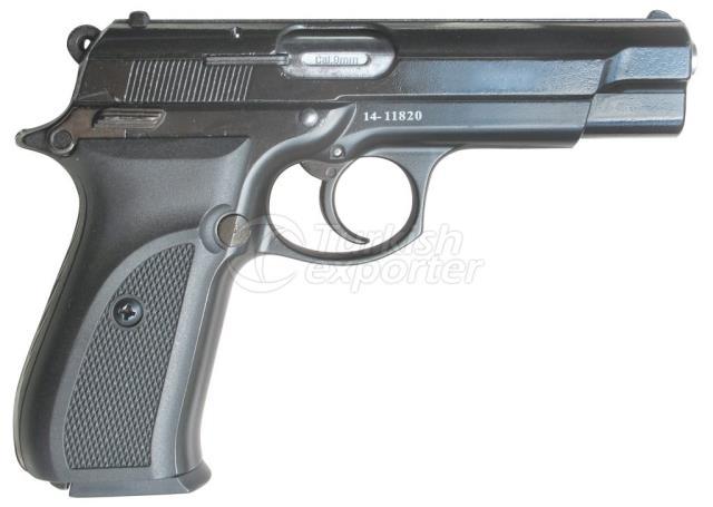 Blank Pistols F90-BLACK